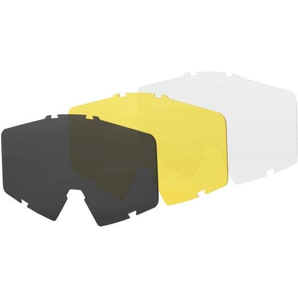 Brand-X G-1 Goggles Lens Pack - Multi