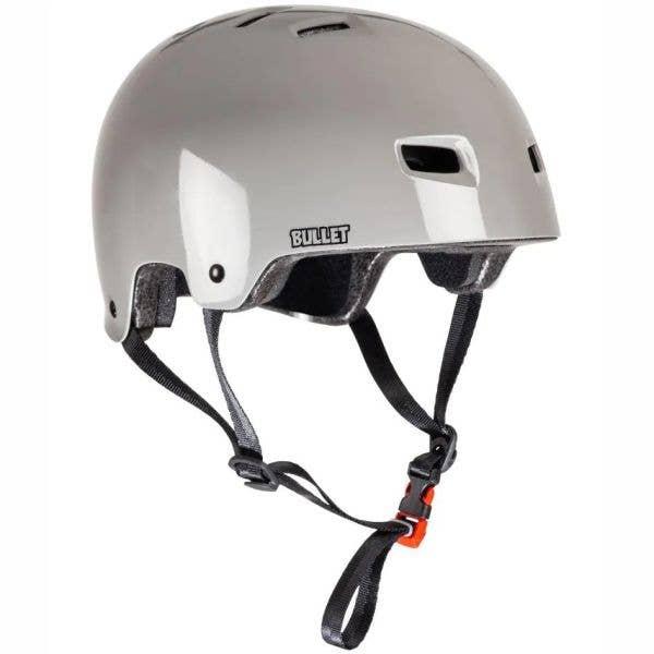Bullet x Slime Balls Slime Logo Helmet - Grey