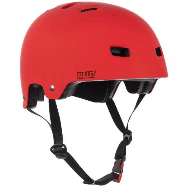 Bullet Deluxe Helmet - Matt Red
