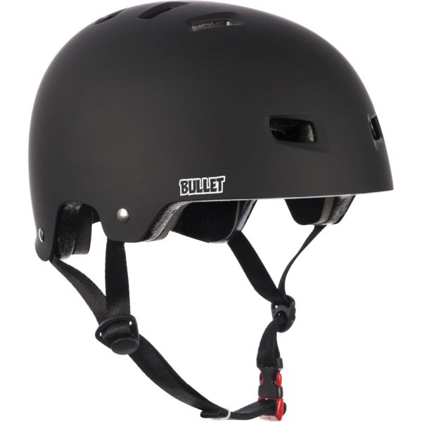 Bullet Deluxe T35 Youth Helmet - Matt Black