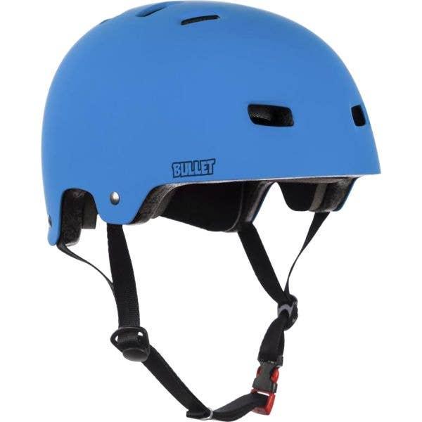 Bullet Deluxe T35 Youth Helmet - Matt Blue