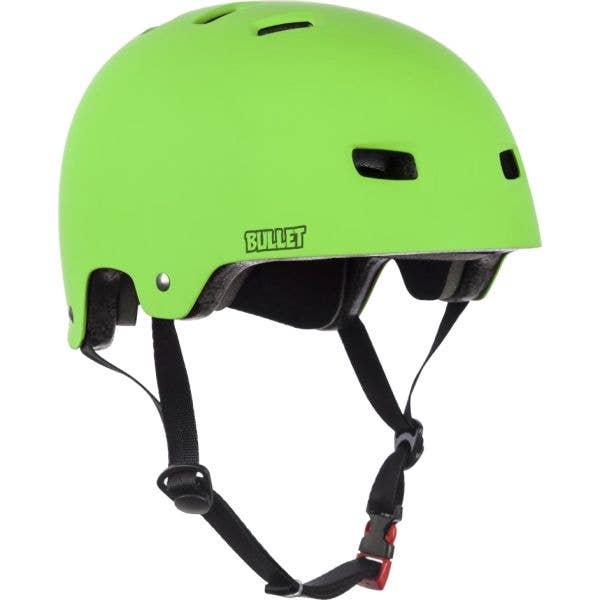 Bullet Deluxe T35 Youth Helmet - Matt Green