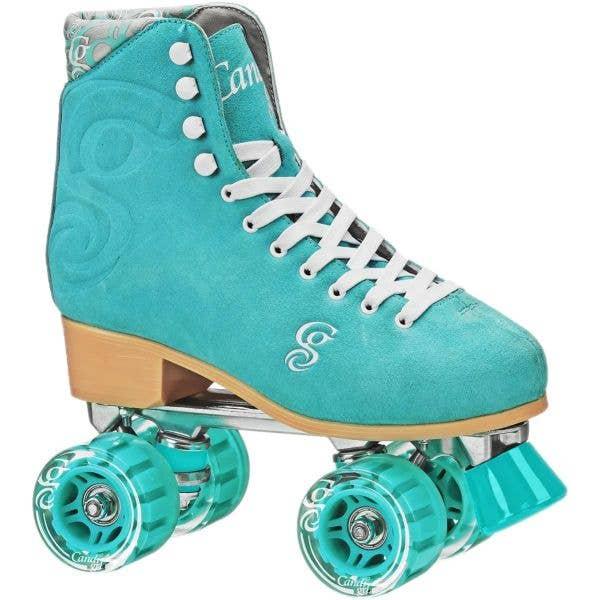 Candi Girl Carlin Quad Roller Skates - Teal