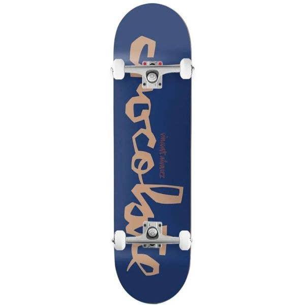 Chocolate Chunk Complete Skateboard - Alvarez 8.25''