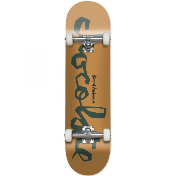 Chocolate Chunk Complete Skateboard - Anderson 7.5''