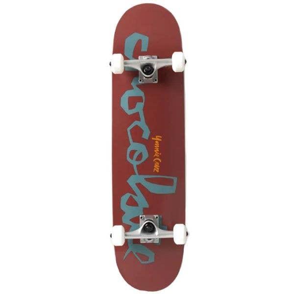 Chocolate Chunk Complete Skateboard - Cruz 7.875''