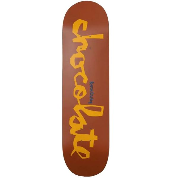 Chocolate OG Chunk Skateboard Deck - Tershy 8.5''