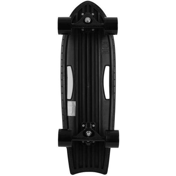 Charger-X Surf Complete Cruiser Skateboard - Black 28''