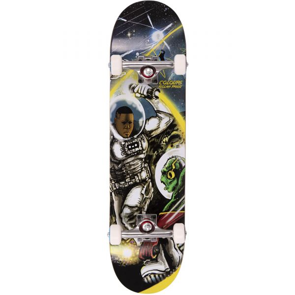 """Colours Collectiv A: Killah Priest Planet of the Gods Complete Skateboard - 8.15"""""""