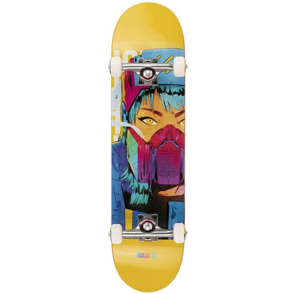 Colours Collectiv B: Diber Kato Cyber Girl Complete Skateboard - 7.8''