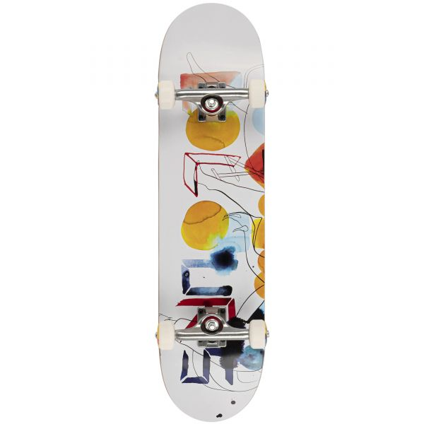 Colours Collectiv B: Will Barras Colors Complete Skateboard - 7.8''