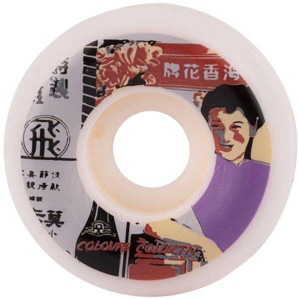 Colours Collectiv Vintage HK Skateboard Wheels - 53mm