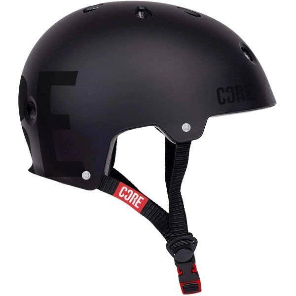 Core Street Helmet - Black/Black