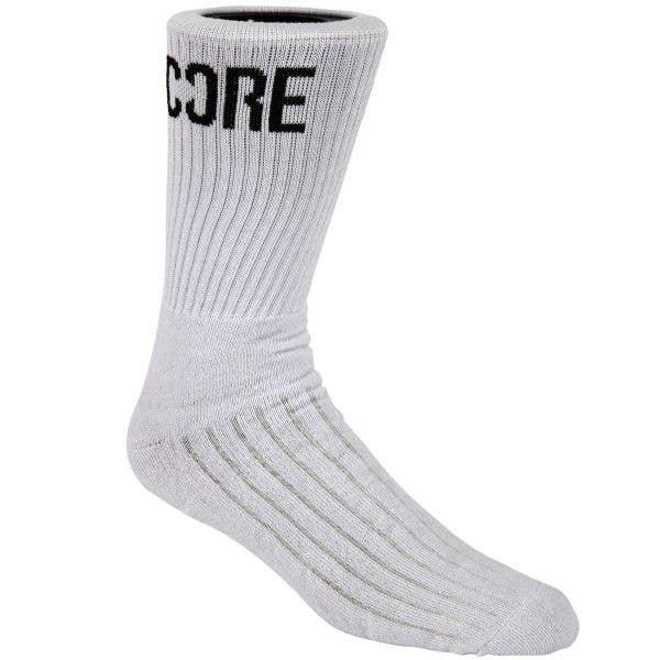 CORE Bespoke Socks - White/Black