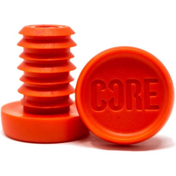 CORE Bar Ends (Pair) - Red