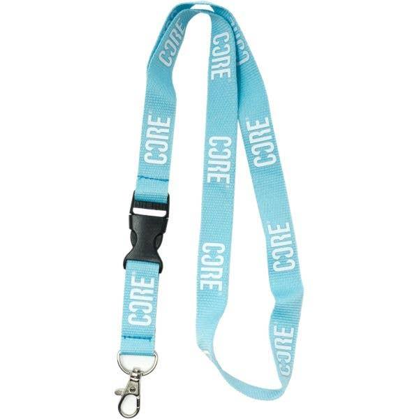 CORE Lanyard Keychain - Blue/White