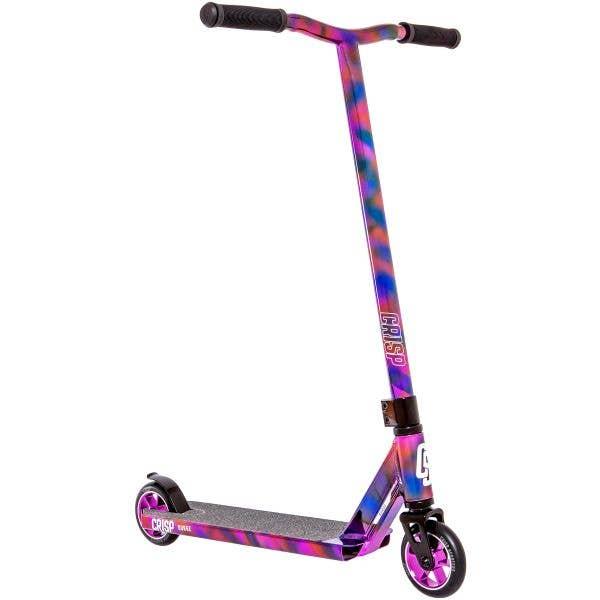 Crisp 2020 Surge Stunt Scooter - Chrome Cloudy Purple