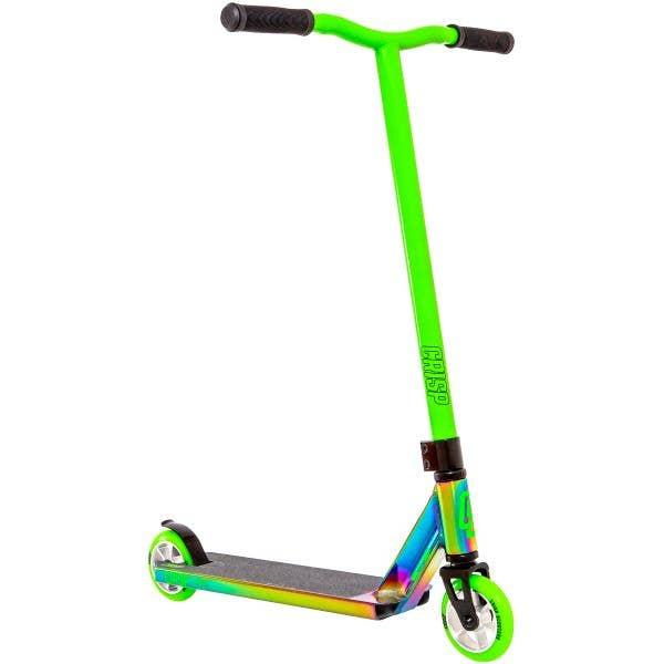 Crisp 2020 Surge Stunt Scooter - Colour Chrome/Green