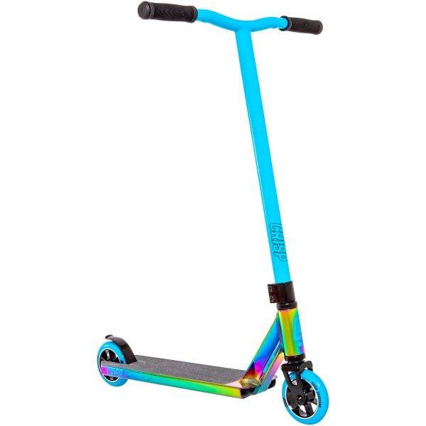 Crisp 2020 Surge Stunt Scooter - Colour Chrome/Sky Blue