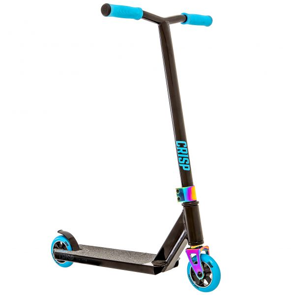 Crisp 2020 Switch Mini Stunt Scooter - Black/Blue