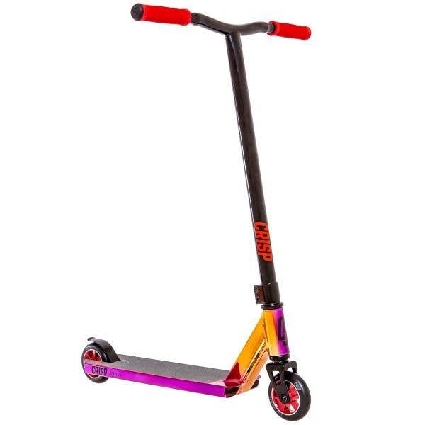 Crisp 2020 Switch Stunt Scooter - Chrome Purple/Orange/Red & Black