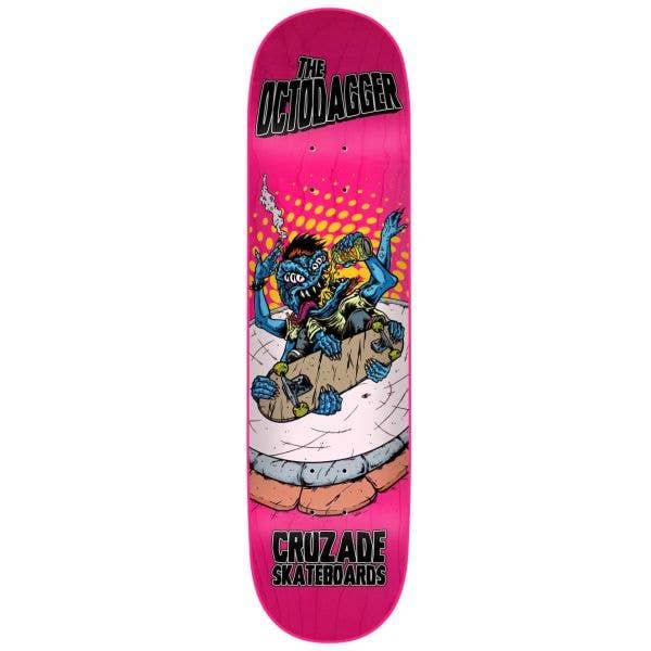 Cruzade The Octodagger Skateboard Deck - 8.25''