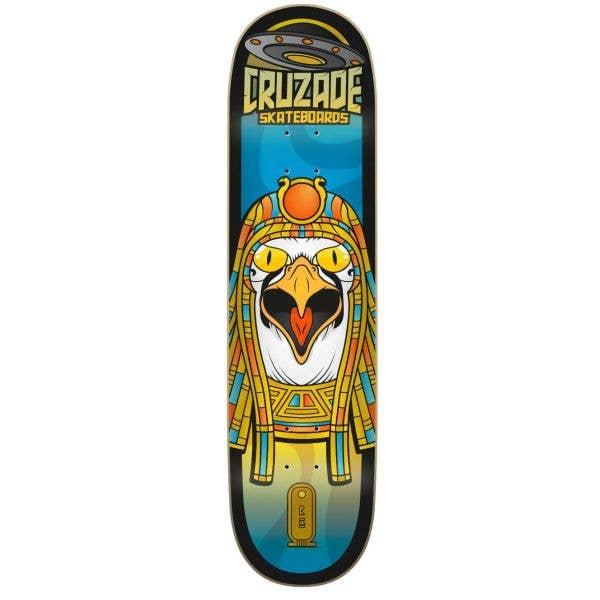 Cruzade Conspiracy Ra Skateboard Deck - 8''