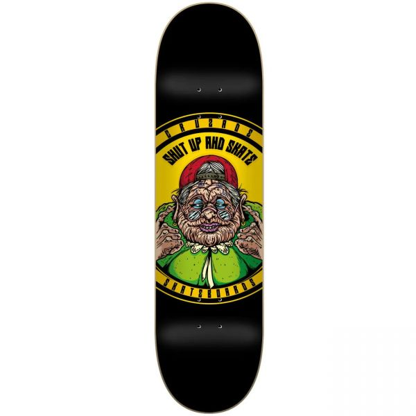 Cruzade Shut Up & Skate Skateboard Deck - 8''