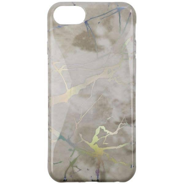 C@SE Flexi Plus iPhone 6/7/8 Case - White Marble