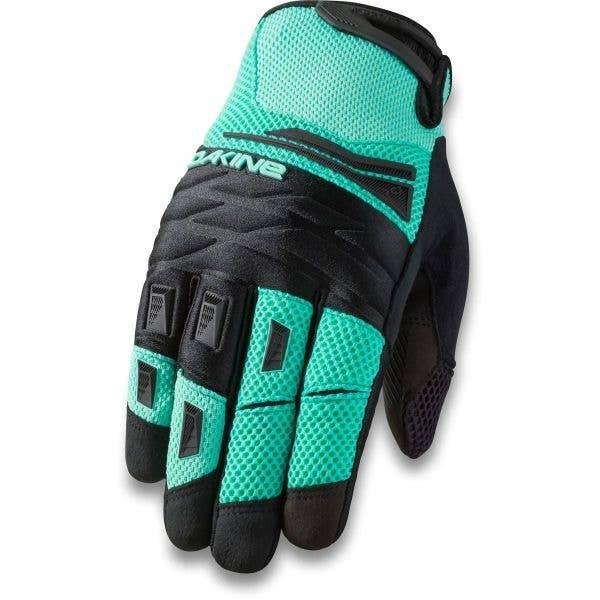 Dakine Cross-X Protective Gloves - Electric Mint