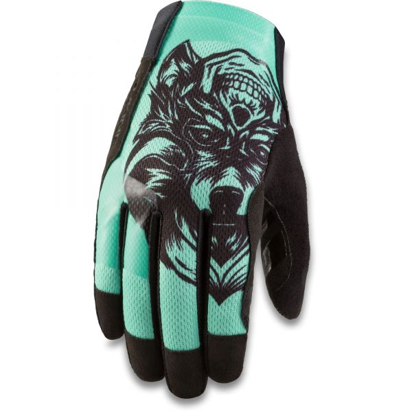 Dakine Covert Protective Gloves - Turquoise