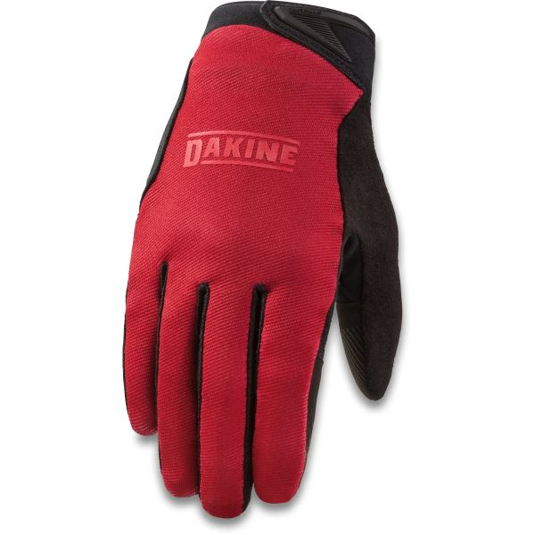 Dakine Syncline Protective Gloves - Deep Red
