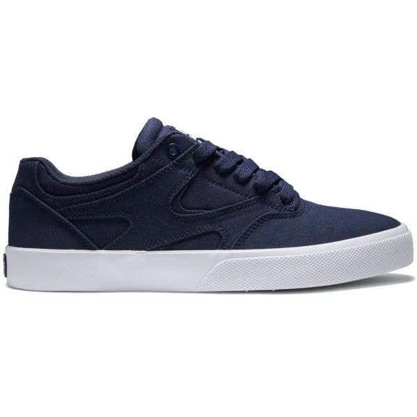DC Kalis Vulc Skate Shoes - Dark Grey/White