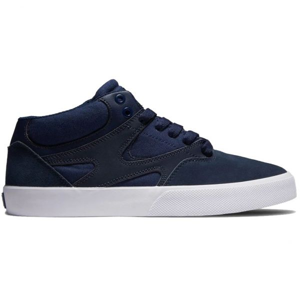 DC Kalis Vulc Mid Skate Shoes - Dark Navy