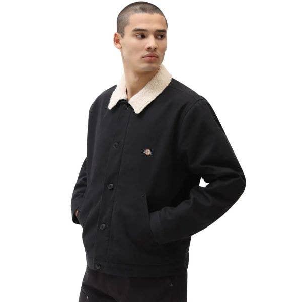 Dickies Duck Canvas Chore Coat - Black