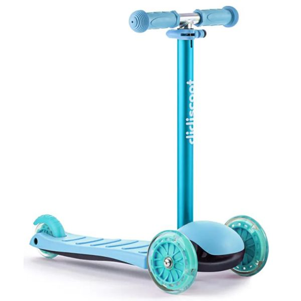 Didicar Didiscoot Three Wheeled Scooter - Teal