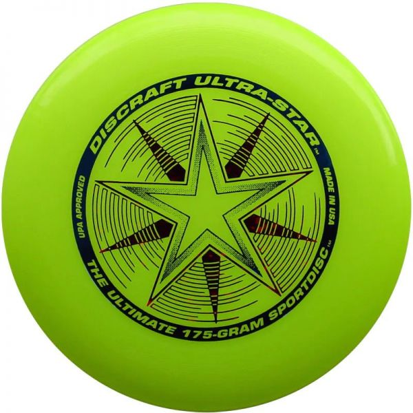 Discraft Ultrastar 175g Frisbee - Florescent Yellow