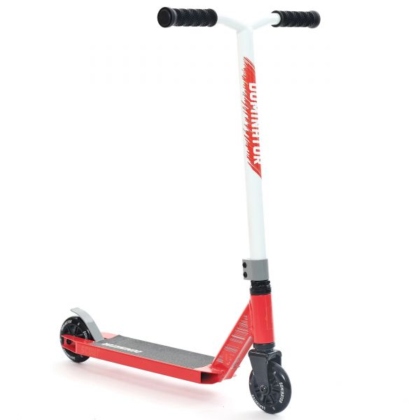 Dominator Scout Stunt Scooter - Red/White
