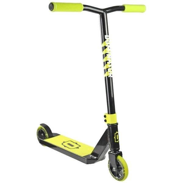 Dominator Trooper Stunt Scooter - Black/Neon Yellow