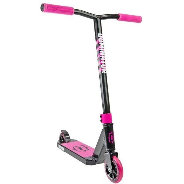 Dominator Trooper Stunt Scooter - Black/Pink