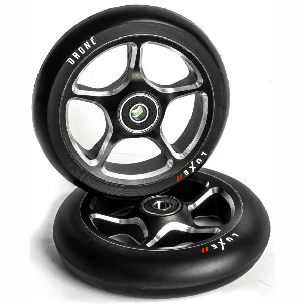 Drone Luxe 2 Scooter Wheel 110mm - Black