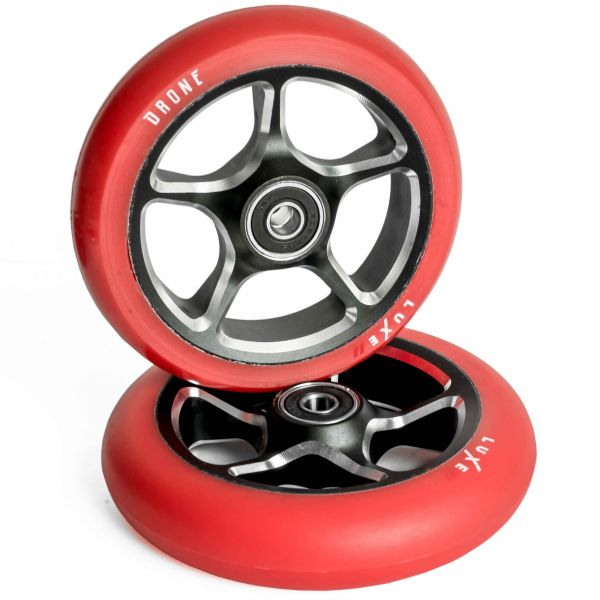 Drone Luxe 2 Scooter Wheel 110mm - Red