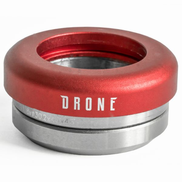Drone Synergy 2 Scooter Headset Integrated - Red