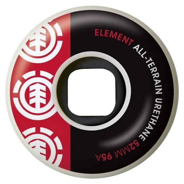Element Section Skateboard Wheels - 52mm