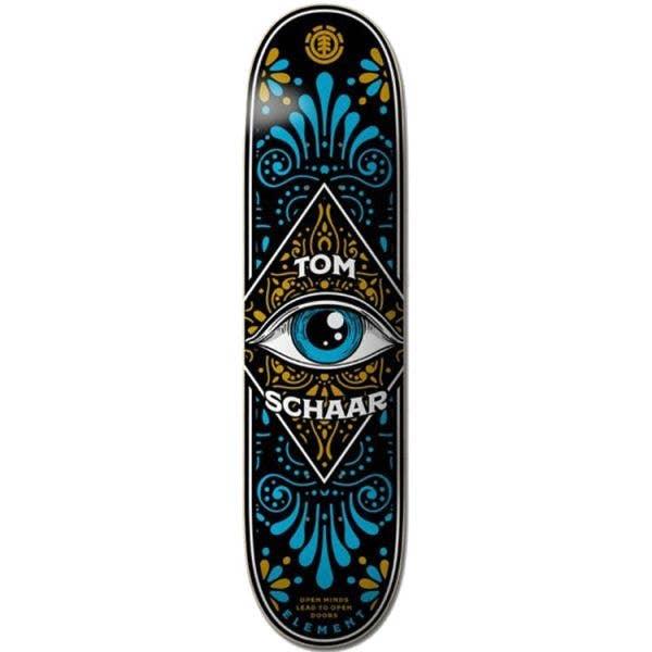 Element Third Eye Skateboard Deck - Schaar 8.5''