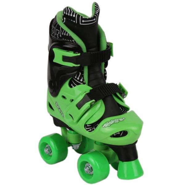 Elektra Kids Quad Roller Skates - Green (J13 - UK2)
