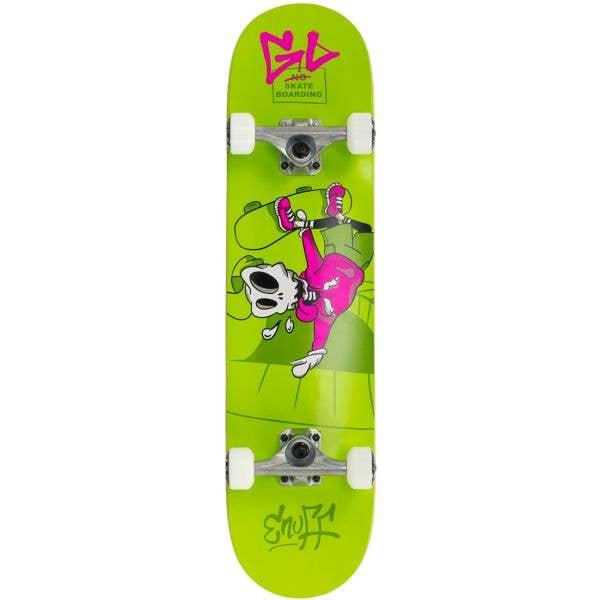 Enuff Skully Mini Complete Skateboard - Green 7.25''