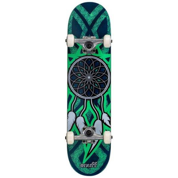Enuff Dreamcatcher Mini Complete Skateboard - Blue/Teal 7.25''