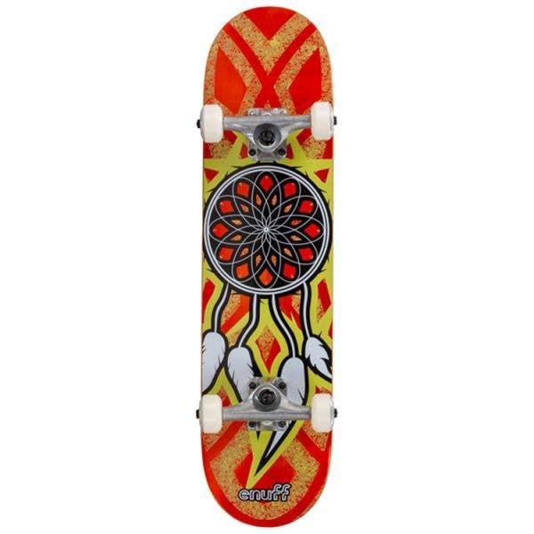 Enuff Dreamcatcher Mini Complete Skateboard - Orange/Yellow 7.25''