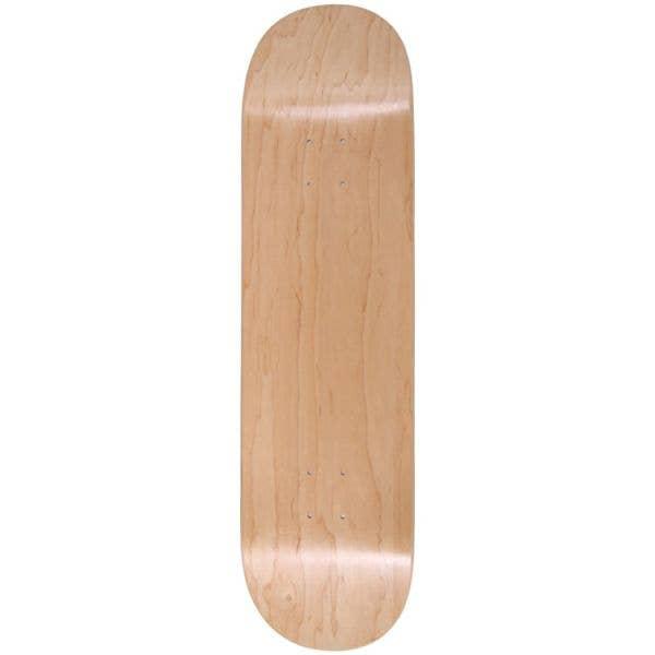 Enuff Classic Skateboard Deck - Natural 8''